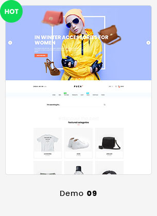 Puca - Optimized Mobile WooCommerce Theme - 21