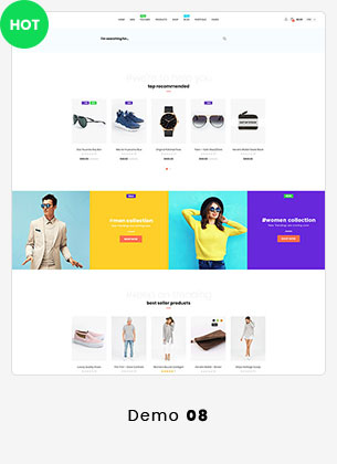 Puca - Optimized Mobile WooCommerce Theme - 20
