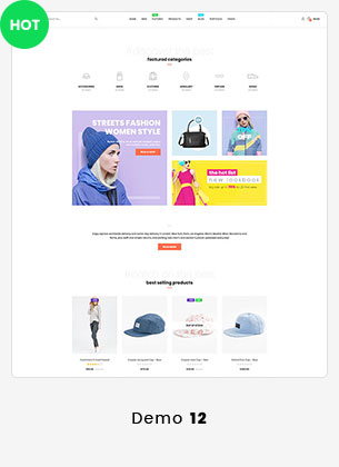 Puca - Optimized Mobile WooCommerce Theme - 24
