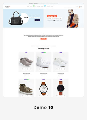 Puca - Optimized Mobile WooCommerce Theme - 22