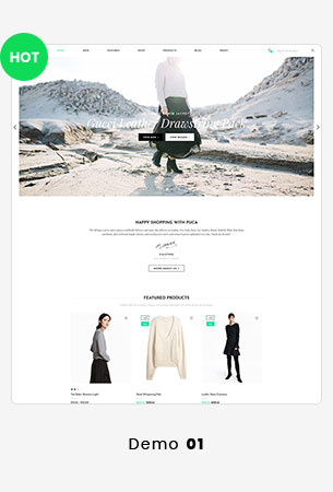 Puca - Optimized Mobile WooCommerce Theme - 29