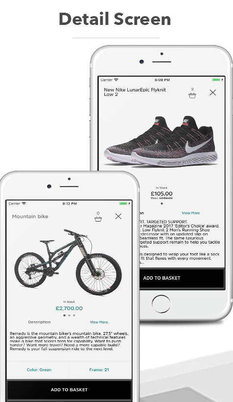 Store App For Woocommerce Shops and Ecommerce Sites - Label PRO Written In Swift XCode - 7
