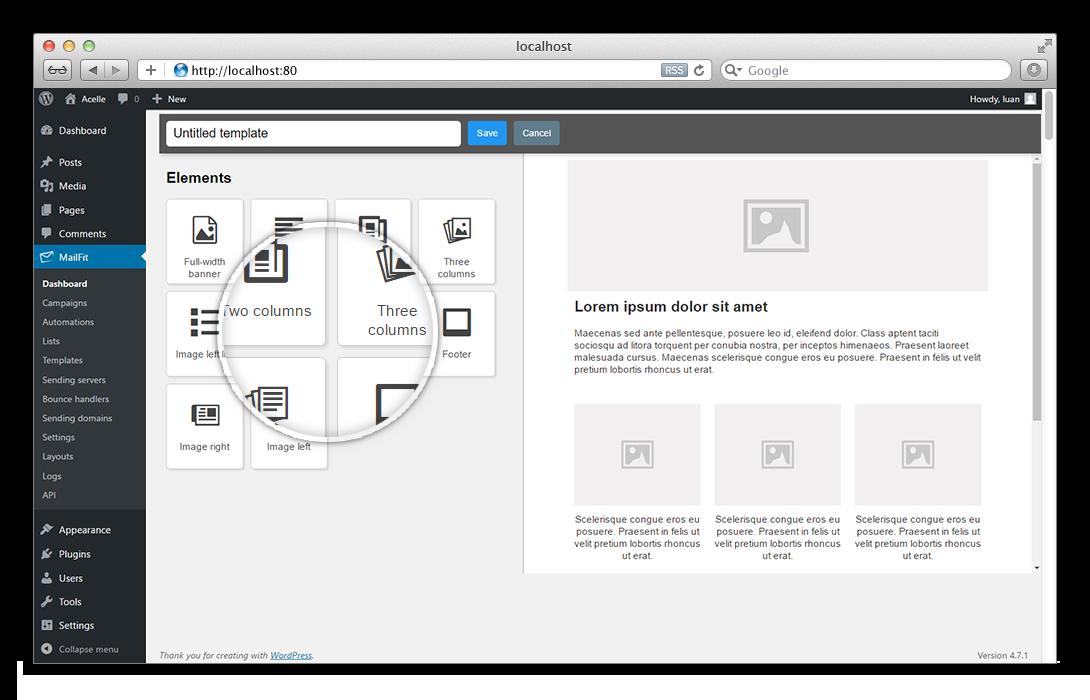 MailFit - Newsletter Plugin for WordPress - 3