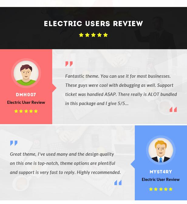 Electric - The WordPress Theme - 4