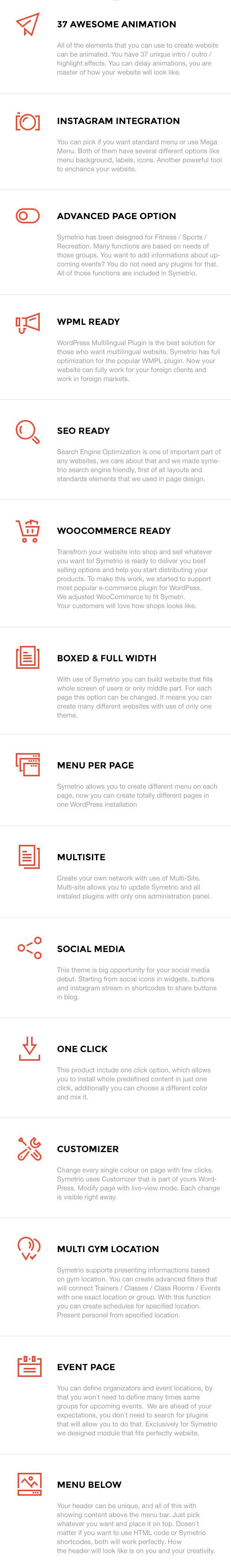 Symetrio - Gym & Fitness WordPress Theme - 5
