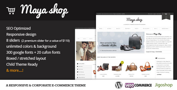 Photo of Get MayaShop – A Flexible Responsive e-Commerce Theme Download