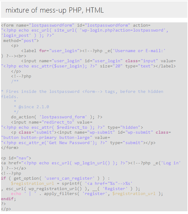 pTemplate: Better PHP Code-HTML Design Separately - 9