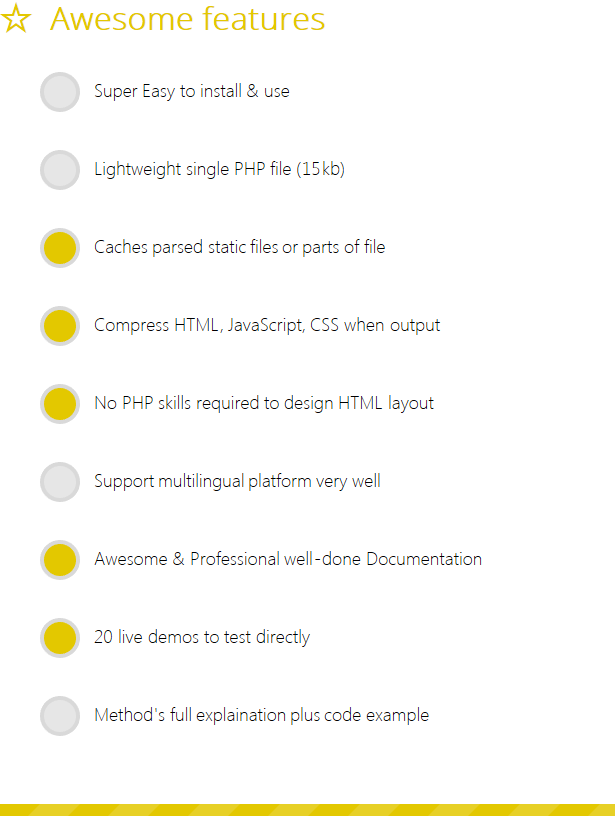 pTemplate: Better PHP Code-HTML Design Separately - 8