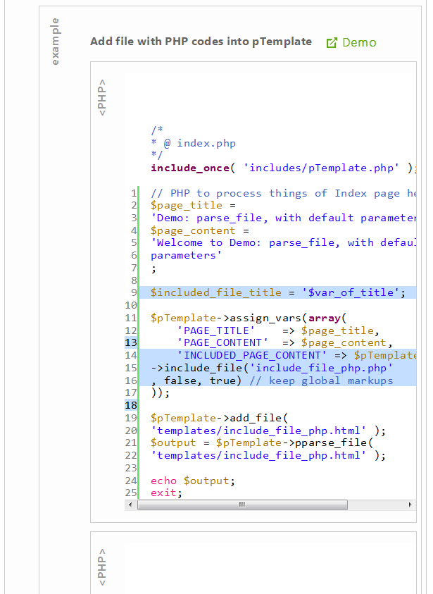 pTemplate: Better PHP Code-HTML Design Separately - 15