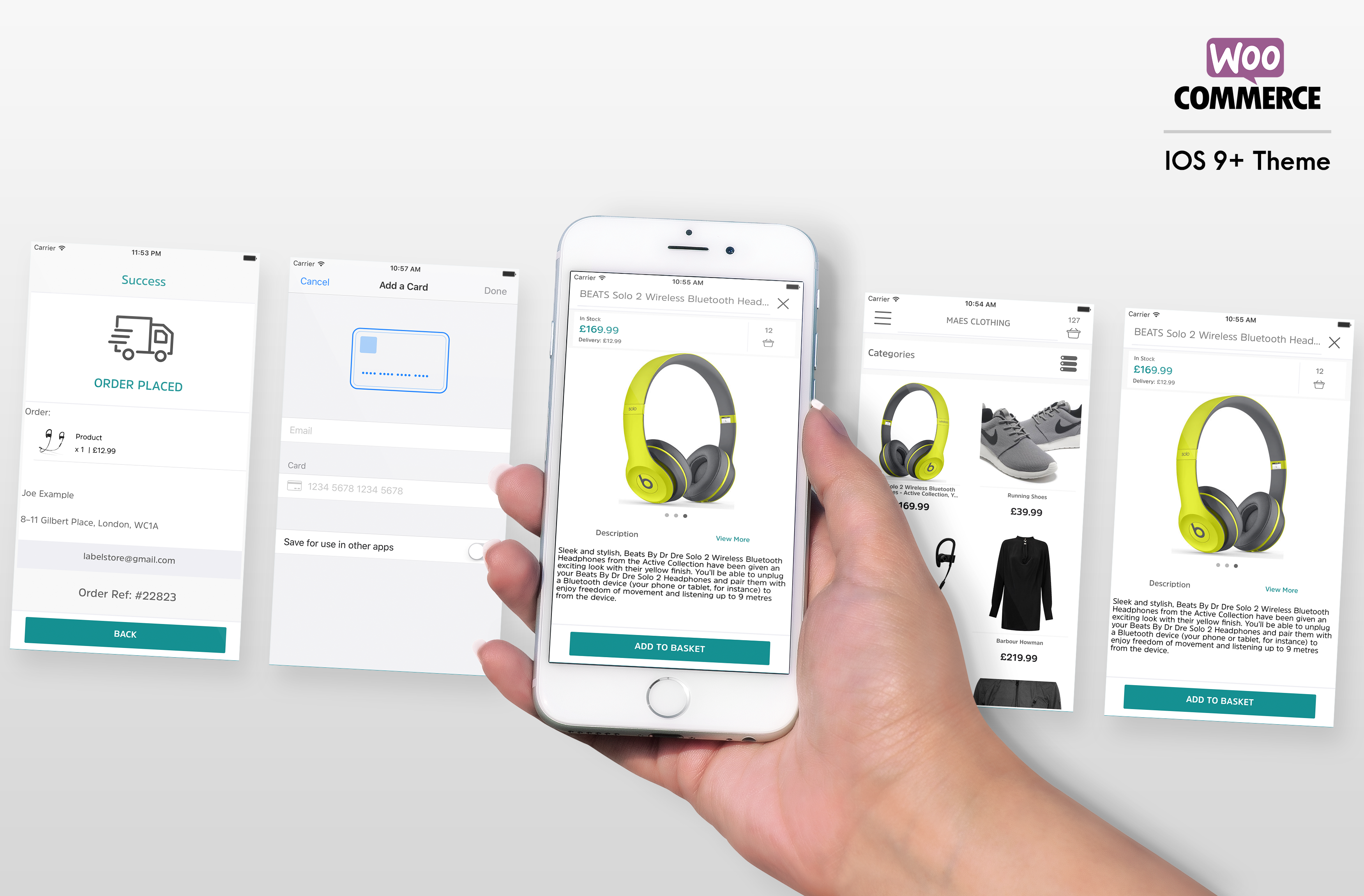 Label App For Woocommerce Shops and Ecommerce Sites - Written In Swift XCode IOS - 5
