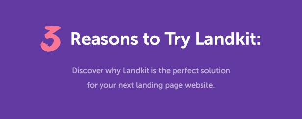 Landkit - WordPress Landing Page Theme - 4