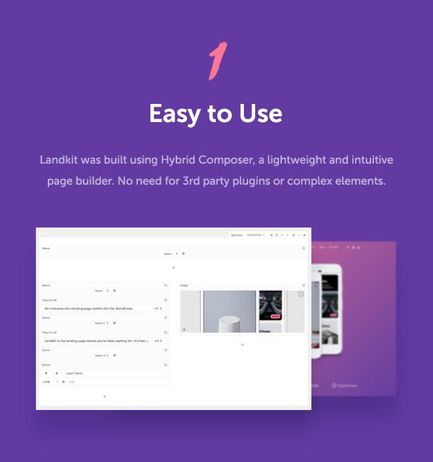 Landkit - WordPress Landing Page Theme - 5
