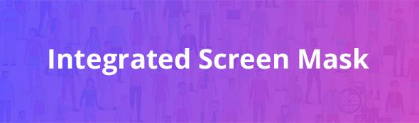 monkey accessibility plugin - screen mask