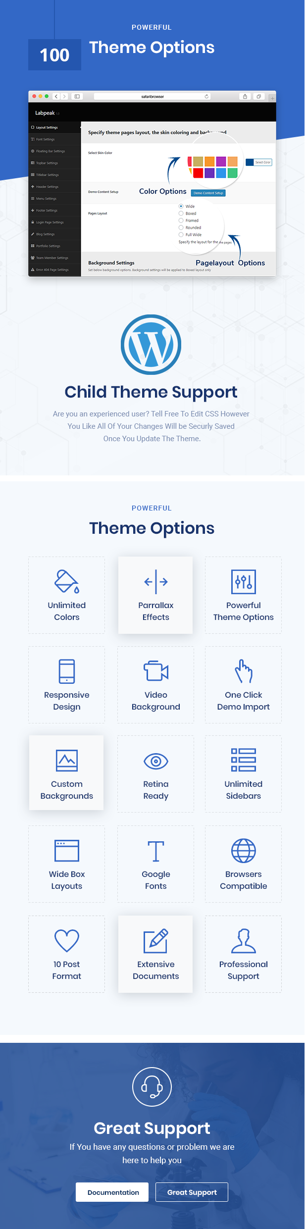 Labpeak WordPress Theme