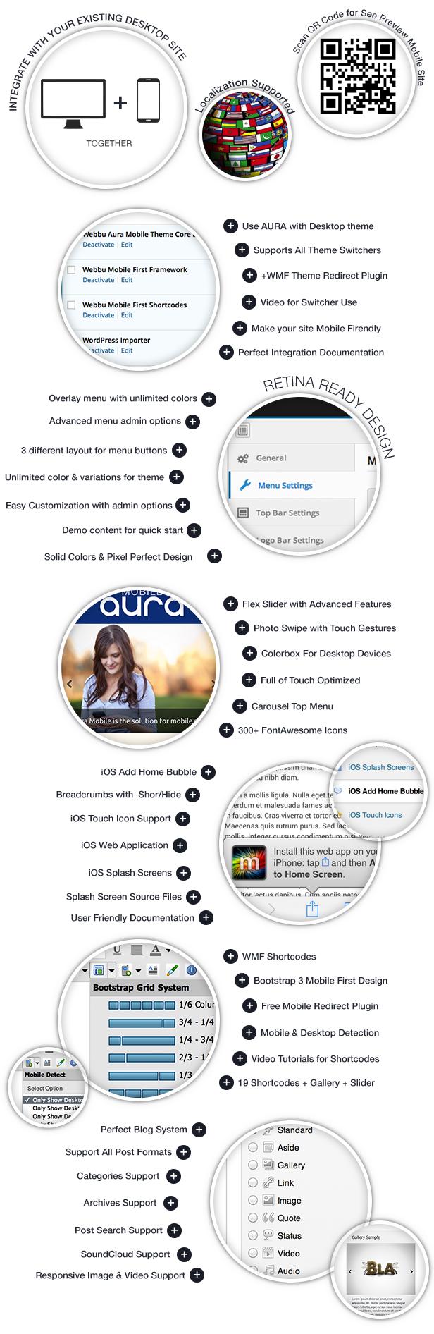 Aura Premium Mobile Theme - 3