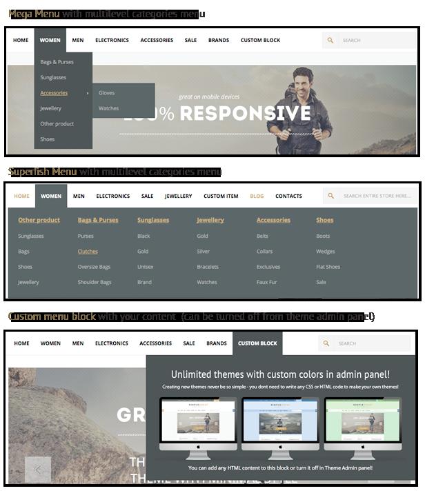 SimpleGreat – Premium Responsive Magento theme! - 16