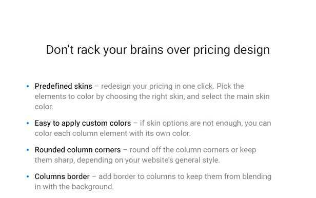 WordPress Pricing Table Plugin - 5