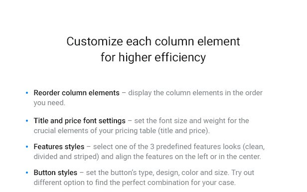 WordPress Pricing Table Plugin - 7