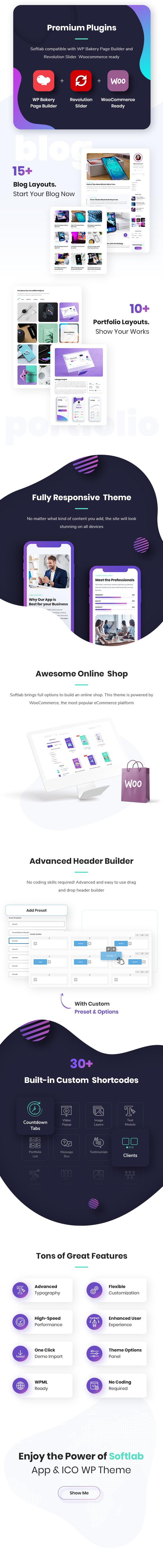 Softlab - Startup and App WordPress Theme - 3