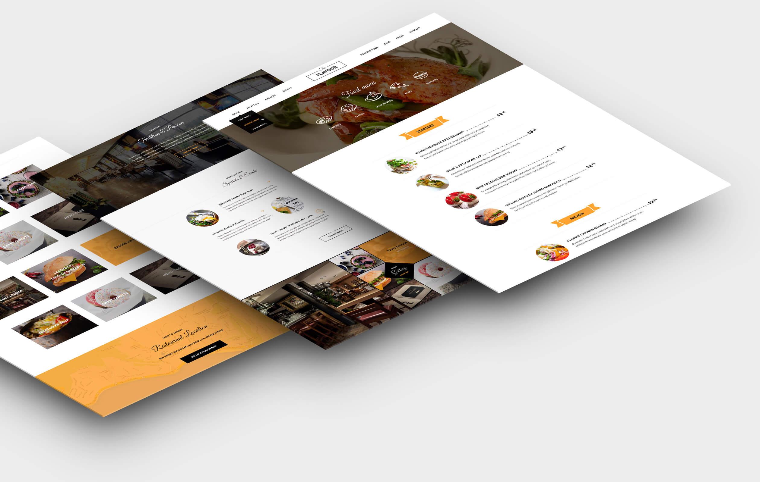 The Flavour - Restaurant WordPress Theme - 7