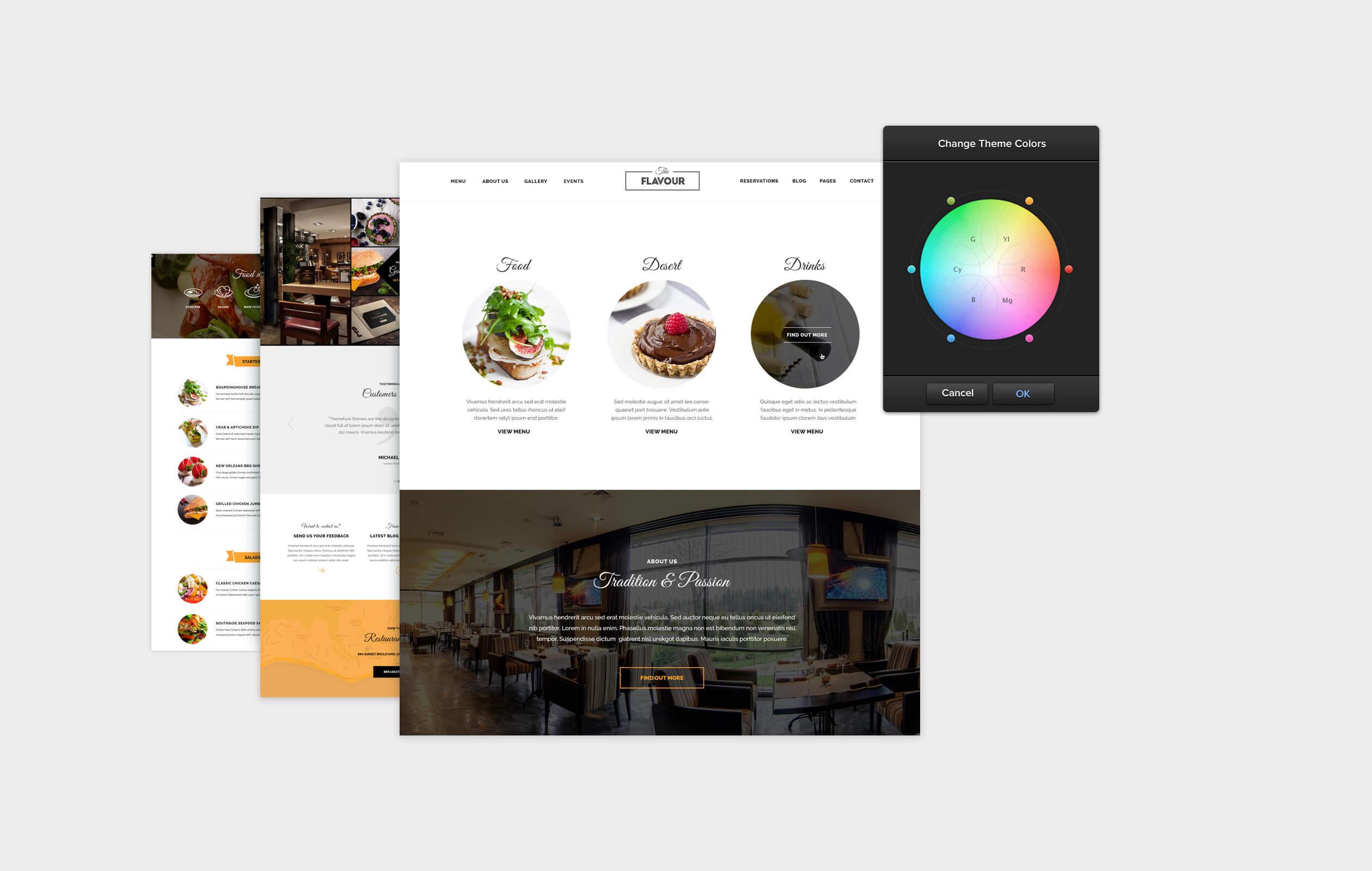 The Flavour - Restaurant WordPress Theme - 4