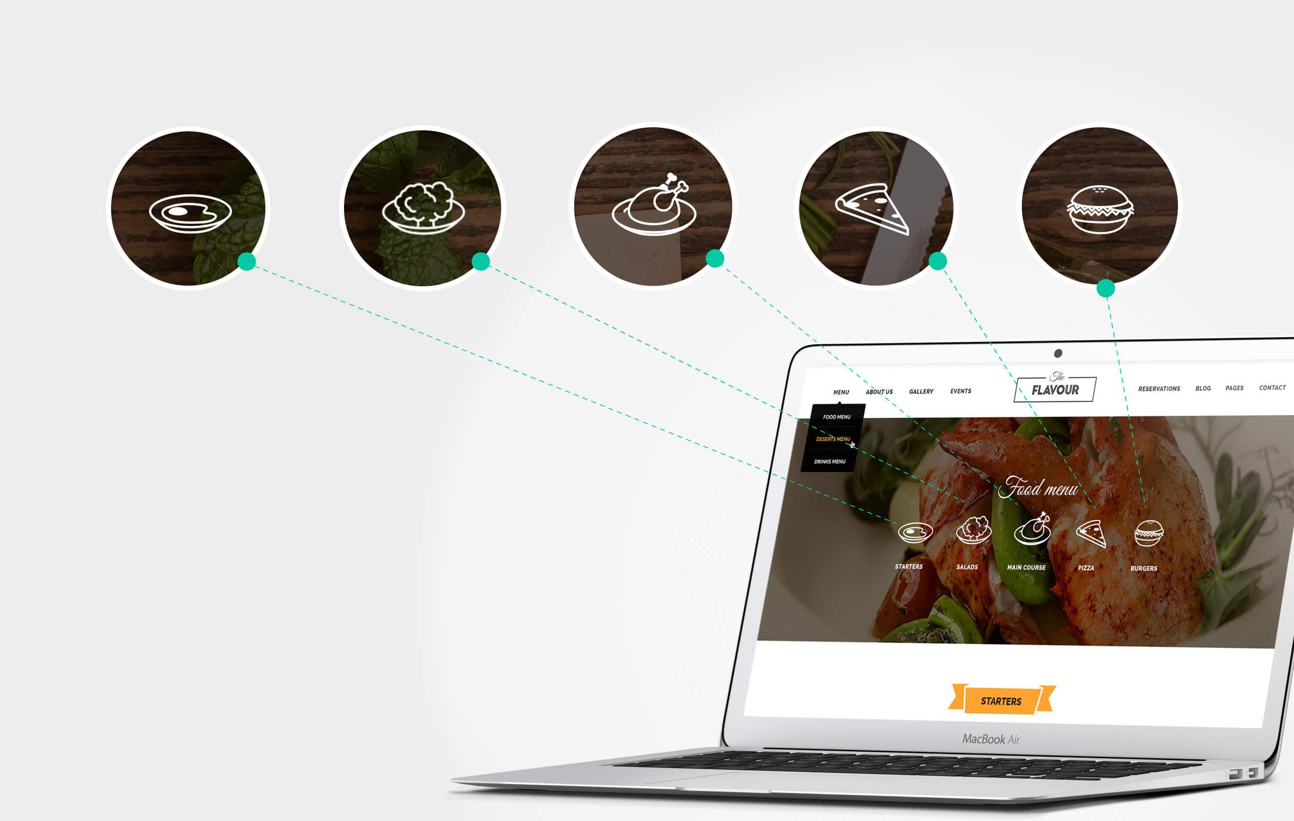 The Flavour - Restaurant WordPress Theme - 6