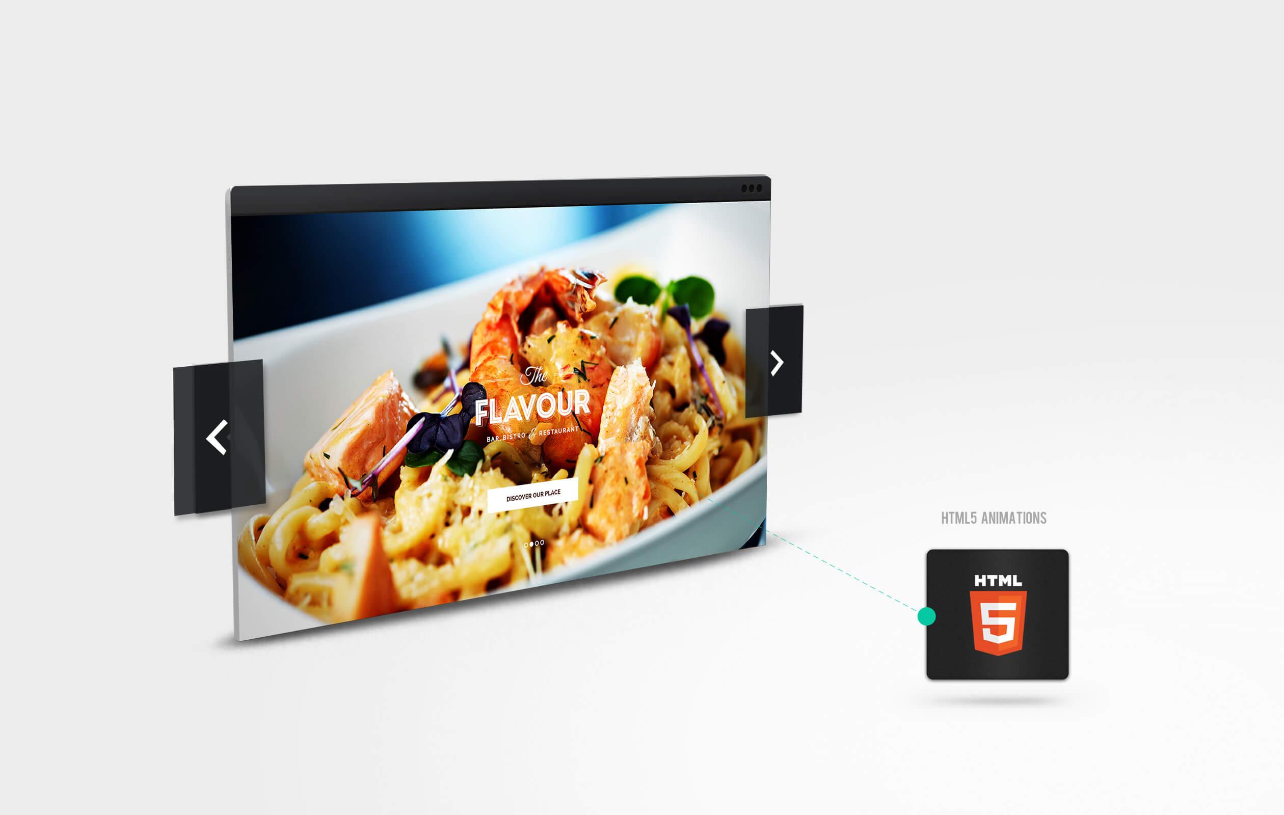 The Flavour - Restaurant WordPress Theme - 2