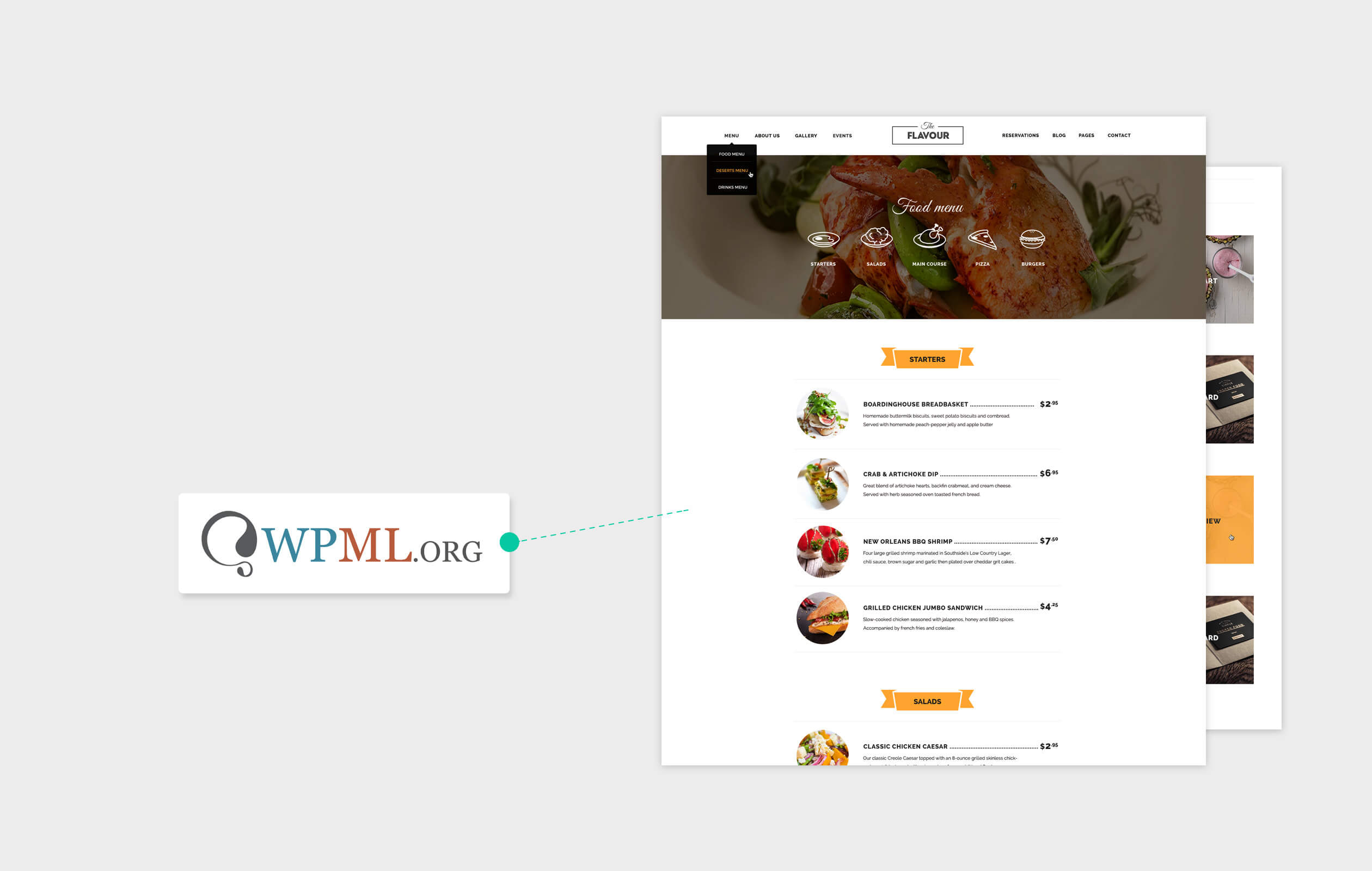 The Flavour - Restaurant WordPress Theme - 12