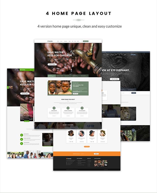 Charity Theme - Soraka Non-profit Organization WordPress Theme - 9