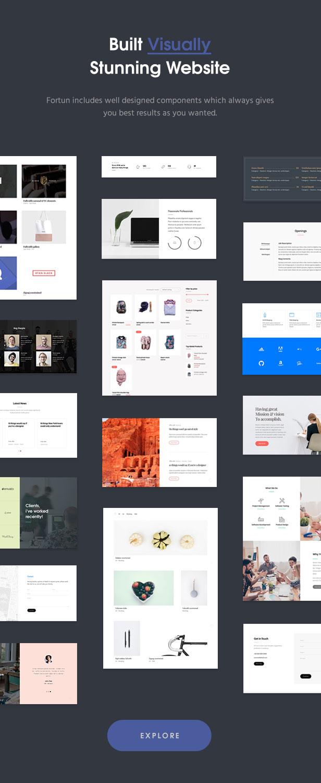 Fortun   Multi-Concept WordPress Theme - 4
