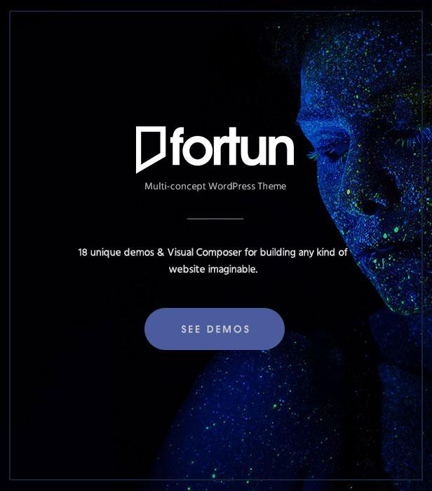Fortun   Multi-Concept WordPress Theme - 3