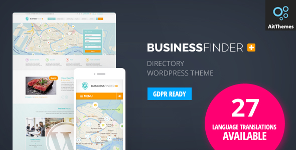 Photo of [Download] Business Finder: Directory Listing WordPress Theme