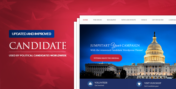 Photo of [Download] Candidate – Political WordPress Theme