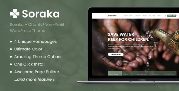 Photo of [Download] Charity Theme – Soraka Non-profit Organization WordPress Theme