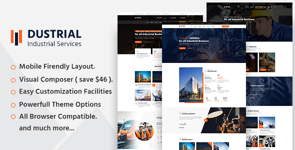 Photo of [Download] Dustrial – Factory & Industrial WordPress Theme