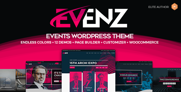 Photo of [Download] Evenz – Conference and Event WordPress Theme
