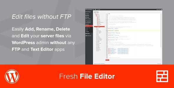 Photo of [Download] Fresh File Editor – WordPress Plugin