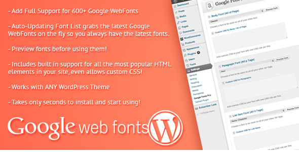 Photo of [Download] Google Web Fonts for WordPress