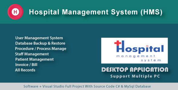 Photo of [Download] Hospital Management System | Patient Manage | Procedure & Invoice with source code