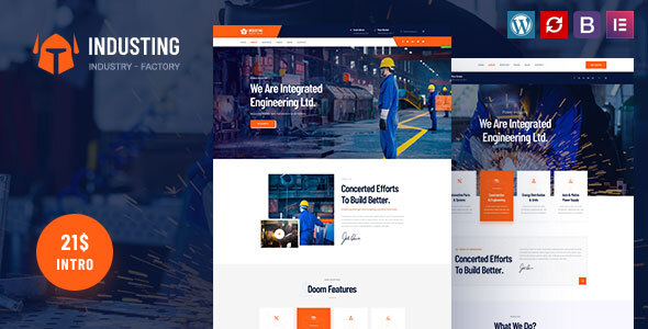 Photo of [Download] Industing – Factory & Business WordPress Theme