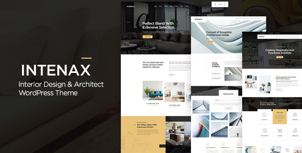 Intenax - Architecture WordPress Theme