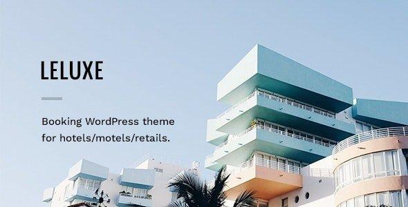 LeLuxe - Hotel WordPress Theme