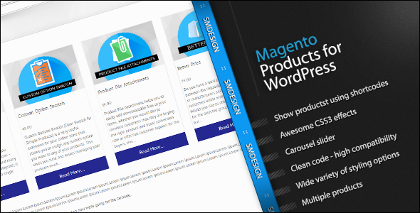 Photo of [Download] Magento Products for WordPress