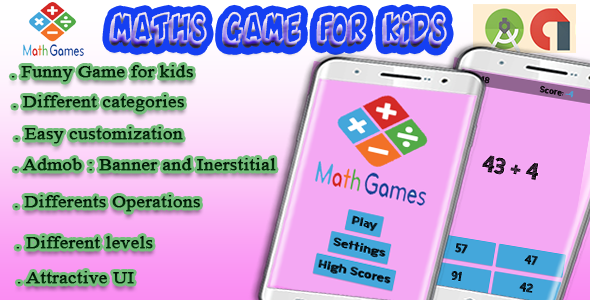 Photo of [Download] Math For Kids – Android Game with Admob