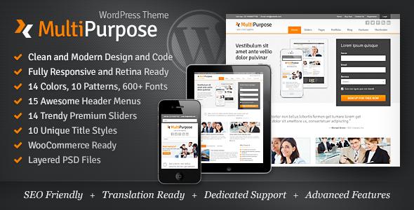 Photo of [Download] MultiPurpose – Responsive WordPress Theme