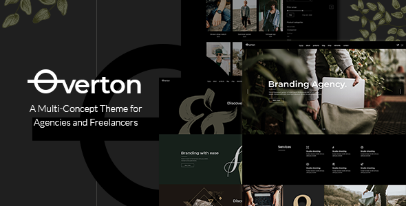 Photo of [Download] Overton – Creative Theme for Agencies and Freelancers