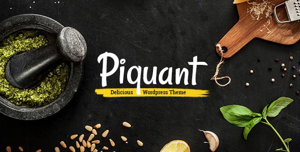 Photo of [Download] Piquant – Restaurant, Bar & Café Theme