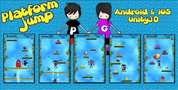 Photo of [Download] Platform Jump Unity3D Game Source Code