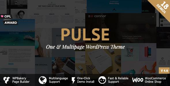 Photo of [Download] Pulse – Premier WordPress Theme