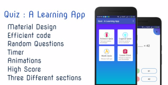 Photo of [Download] Quiz : A Learning App | Material Design | Efficient code